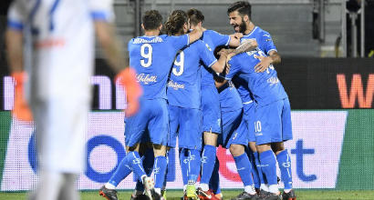 Serie B: rimonta dell'Empoli, Frosinone ko