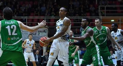 Basket Serie A, playoff: Trentino e Venezia avanti 1-0 nei quarti