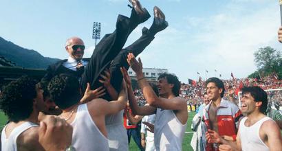 """Sacchi, 30 anni dal primo scudetto del suo Milan: """"Fu un sogno, ci credevamo solo io e Berlusconi"""""""