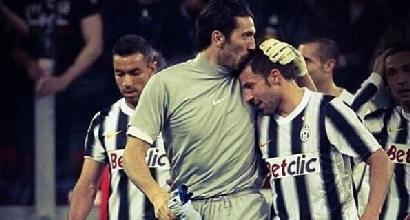 """Del Piero scrive a Buffon:""""Una storia che finisce, ma che non finirà mai"""""""