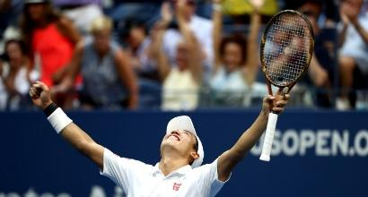 Us Open: Nishikori semifinale