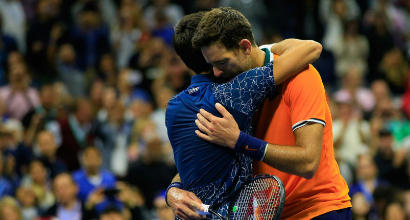 Us Open, Djokovic batte Del Potro