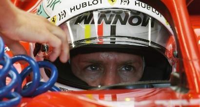 Vettel, foto AFP