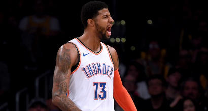 Nba: George e Westbrook affossano i Lakers senza LeBron, super Embiid stende i Suns