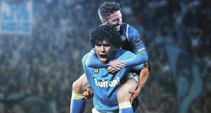 Napoli, Mertens raggiunge Maradona: