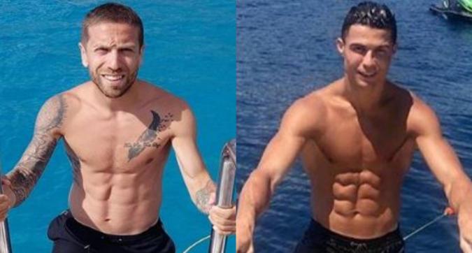 """Il Papu Gomez imita Ronaldo in barca: """"Non vedo differenze"""""""