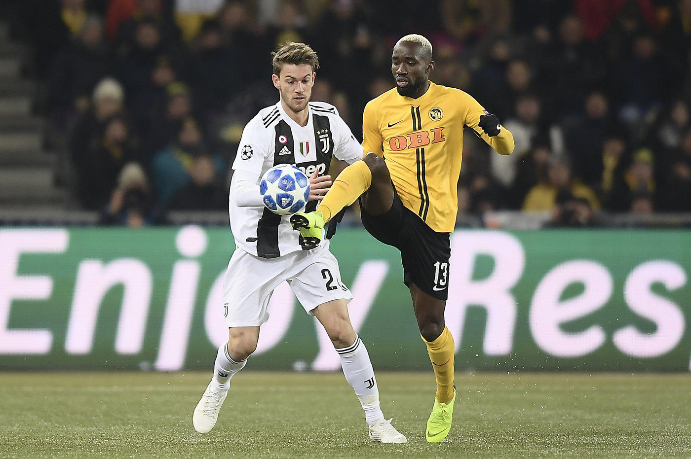 Young Boys-Juventus (LaPresse)