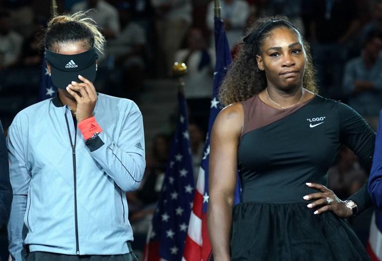Naomi Osaka semnra quasi vergognarsi del successo su Serena Williams nella finale degli Us Open (8 settembre)