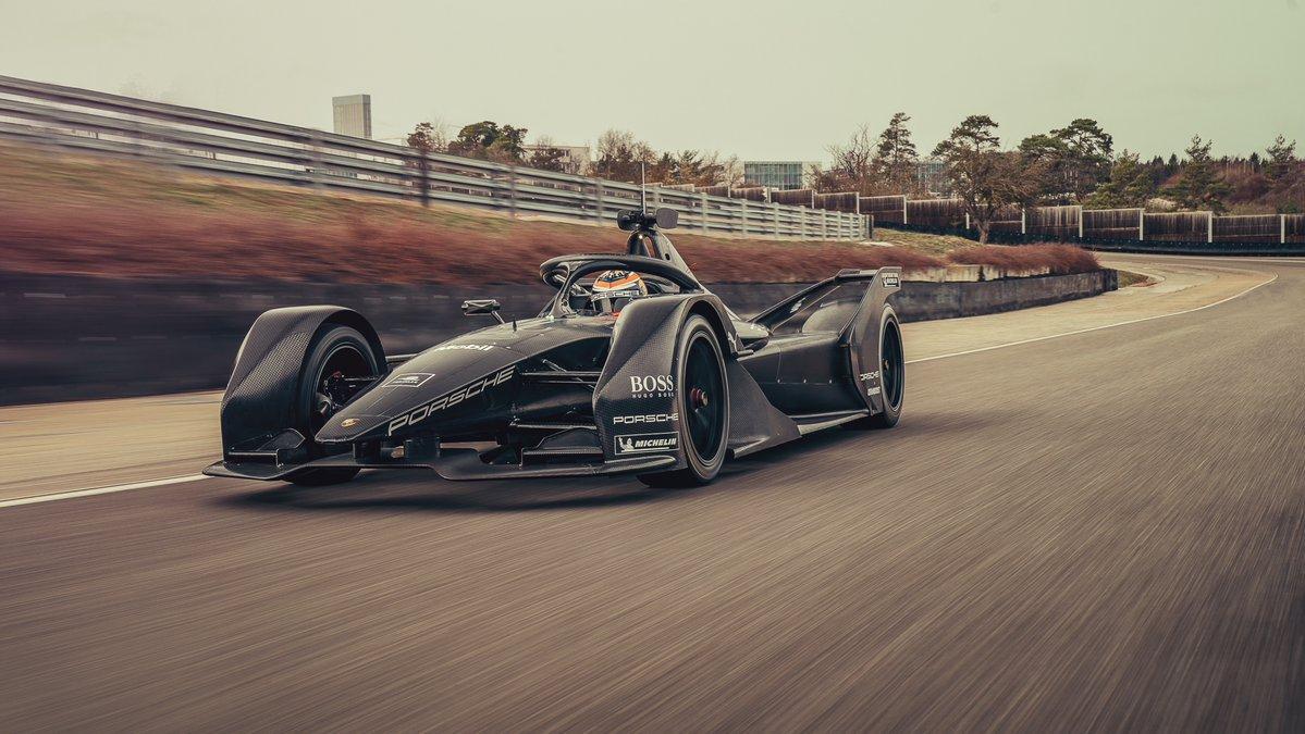 Porsche, inizia l'avventura in Formula E