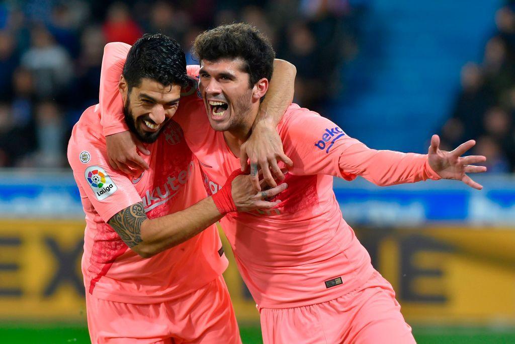 Liga, Alaves-Barcellona 0-2: le foto del match