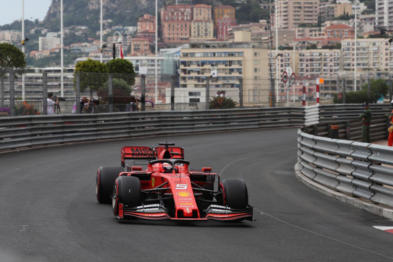 Giovedì di libere a Monte Carlo, per il sesto appuntamento mondiale dell'anno