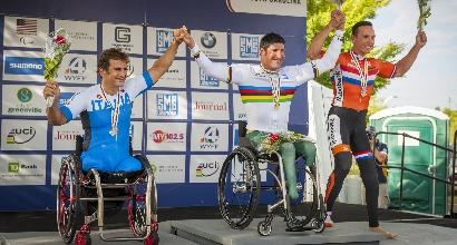 Mondiali Paraciclismo: Zanardi chiude con un argento