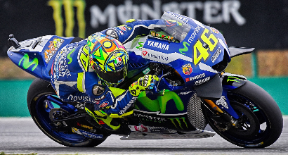 """MotoGP a Brno, Rossi: """"Ero da prima fila"""""""