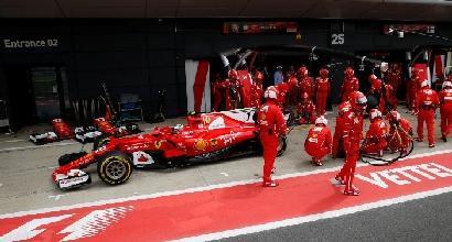 Silverstone, la Pirelli spiega la foratura di Raikkonen