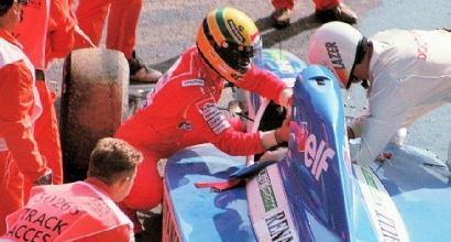 Senna e Comas, quella volta a Spa nel 1992