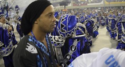Ronaldinho, foto Lapresse
