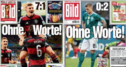 """Mondiali 2018, che flop la Germania. L'AFD: """"Una Nazionale solo di tedeschi"""""""