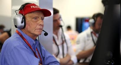 Trapianto ai polmoni per Niki Lauda: è in gravi condizioni