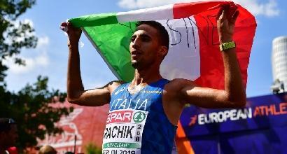 Europei Atletica, urlo Rachik: è bronzo nella maratona