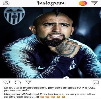 """Barcellona, mistero Vidal: """"Con i traditori non si combatte, si impiccano da soli"""""""