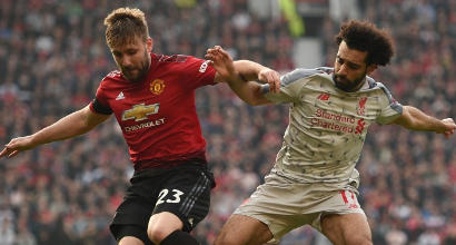 Premier League: il Manchester United frena il Liverpool, l'Arsenal sale al quarto posto