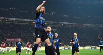 SERIE A, La Lazio espugna San Siro: gol di Milinkovic