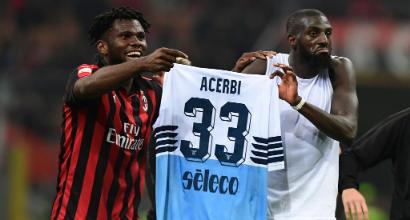 Milan-Lazio, coro razzista della curva Nord verso Bakayoko