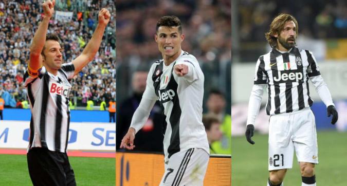 La Top11 degli otto scudetti Juve: solo CR7 batte Del Piero. E il centrocampo di Berlino...