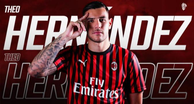 """Calciomercato Milan, Theo Hernandez è ufficiale: """"Qui, ora, verso il futuro"""""""