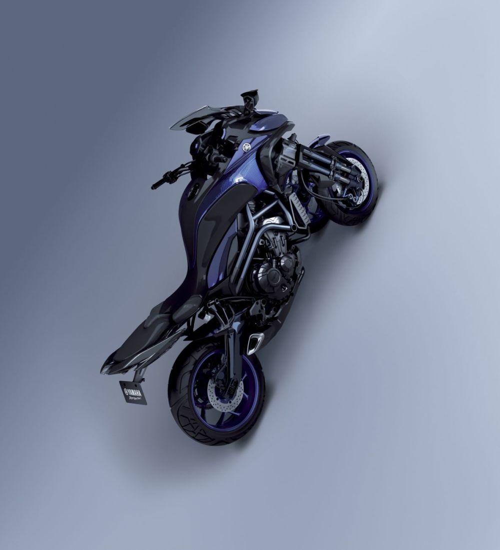 Yamaha, ecco la prima moto a 3 ruote | Foto - Sportmediaset