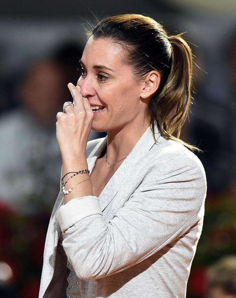 Roma omaggia la Flavia Pennetta