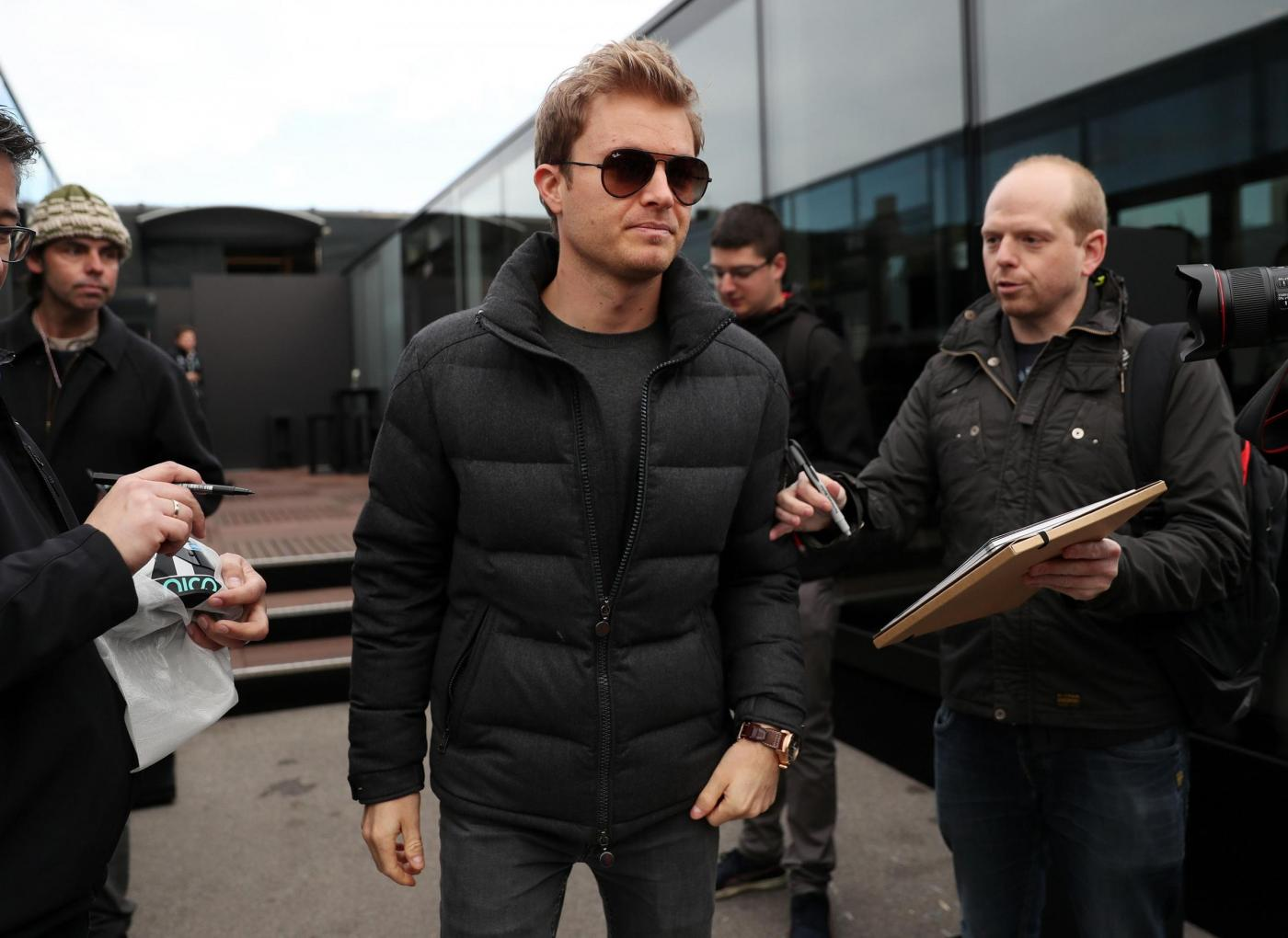 F1, Nico Rosberg fa il turista