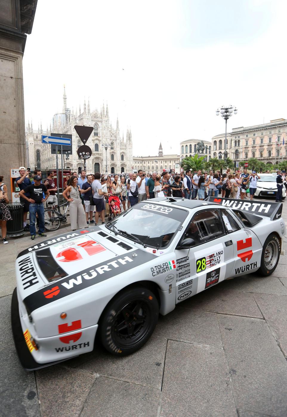 Milano Rally Show: le foto della parata