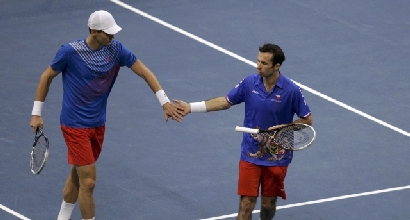 Berdych e Stepanek (Reuters)