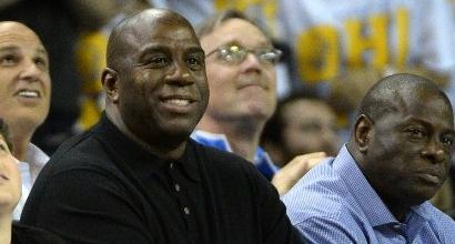 Magic Johnson è il nuovo presidente dei Lakers