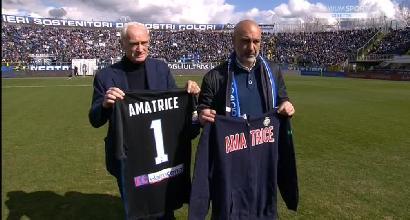 Atalanta-Fiorentina, l'incasso per Amatrice<br />