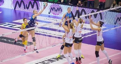 Volley, A1 donne: rullo Conegliano, Modena va ko
