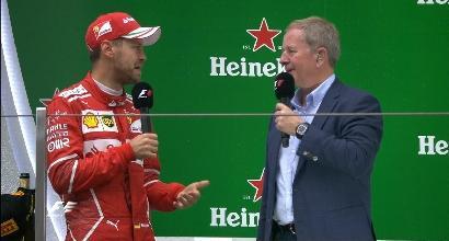 """Ferrari, Vettel 2°: """"Mi sono divertito"""""""