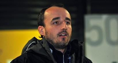 F1, Kubica torna al volante di una Lotus 2012