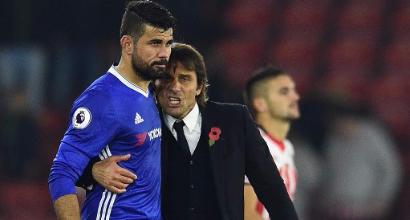Dall'Inghilterra: Milan, spunta il nome di Diego Costa per l'attacco