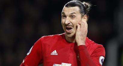 """Manchester United, Mourinho: """"Ibra può restare, con noi da gennaio"""""""