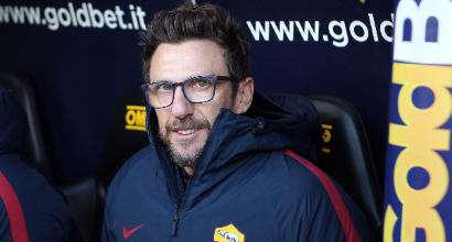 """Roma, Di Francesco: """"De Rossi? Usciamo sconfitti tutti"""""""