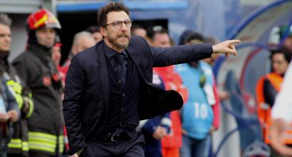 """Roma, Di Francesco: """"Col Genoa non stravolgerò la formazione"""""""
