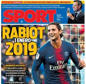 Il Barcellona piglia tutto: arrivano De Jong e Rabiot