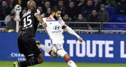 Ligue1: il Lione batte il Guingamp con il brivido, secondo posto a tre punti