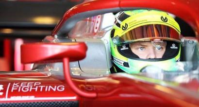 F1, Schumi Jr debutta in Ferrari