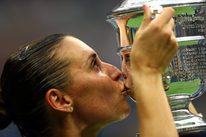 """Flavia Pennetta batte in due set l'amica-nemica Roberta Vinci nella storica finale tutta italiana agli Us Open. Poi annuncia: """"Mi ritiro, è il momento migliore della mia carriera"""""""