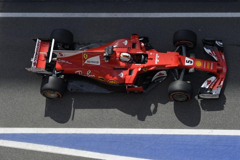 Ferrari, livrea