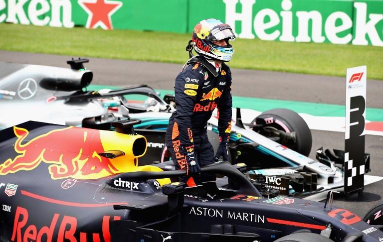 Ricciardo e Verstappen in prima fila nel GP del Messico: Hamilton e Vettel alle loro spalle