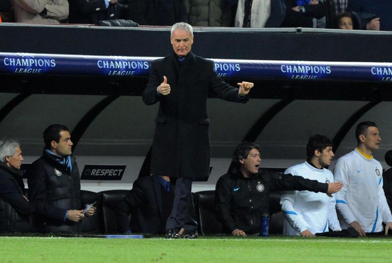 Ranieri, stagione 2011/12: subentrato e poi esonerato. Bilancio totale: 17V, 5N, 13P. Eliminato agli ottavi di Champions e ai quarti di Coppa Italia. Media punti in campionato: 1,53